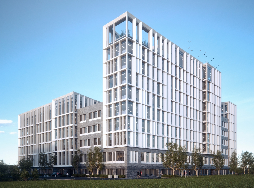 Axis Communications Office Building In Lund Sweden Image