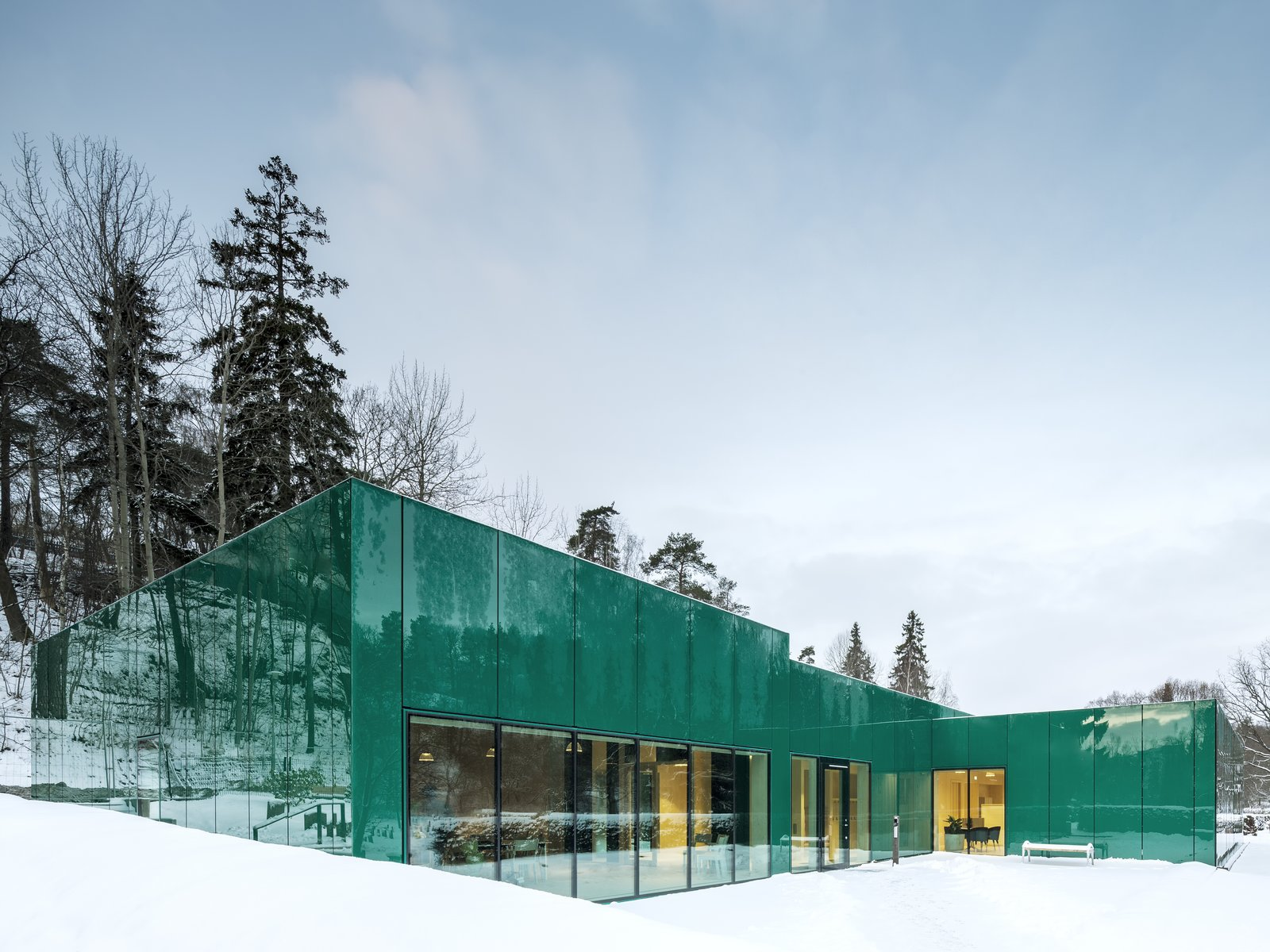 Kgc Together With Architect G Wingårdh Builds A Unique Office In A